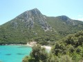 Pohled na pláž Divna nedaleko Trpanje