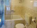 Apartmán A-III - koupelna a sociální zařízení
