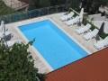 Bazén je k dispozici